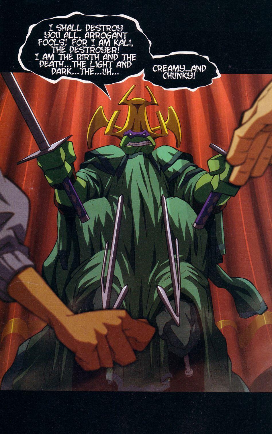 Teenage Mutant Ninja Turtles (2003) chap 7 pic 20