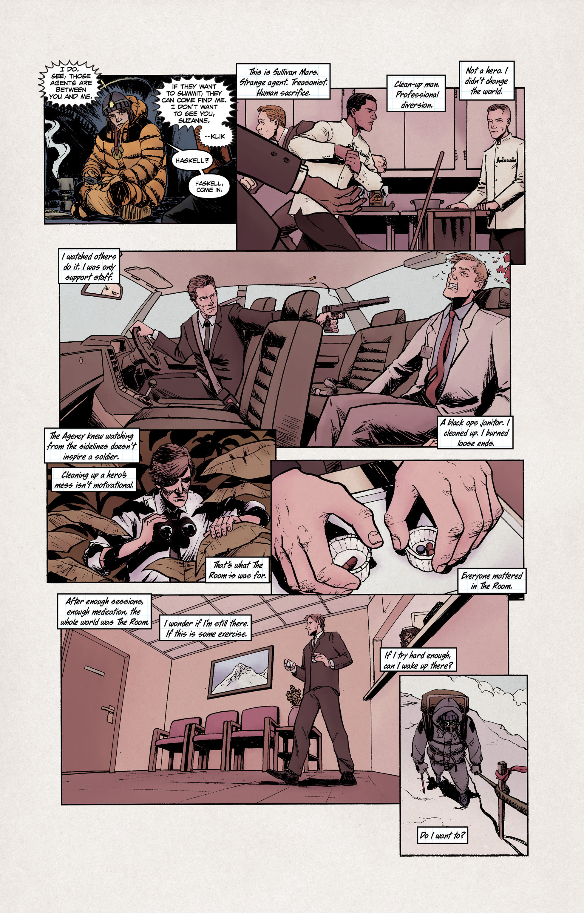 Read online High Crimes comic -  Issue #10 - 10