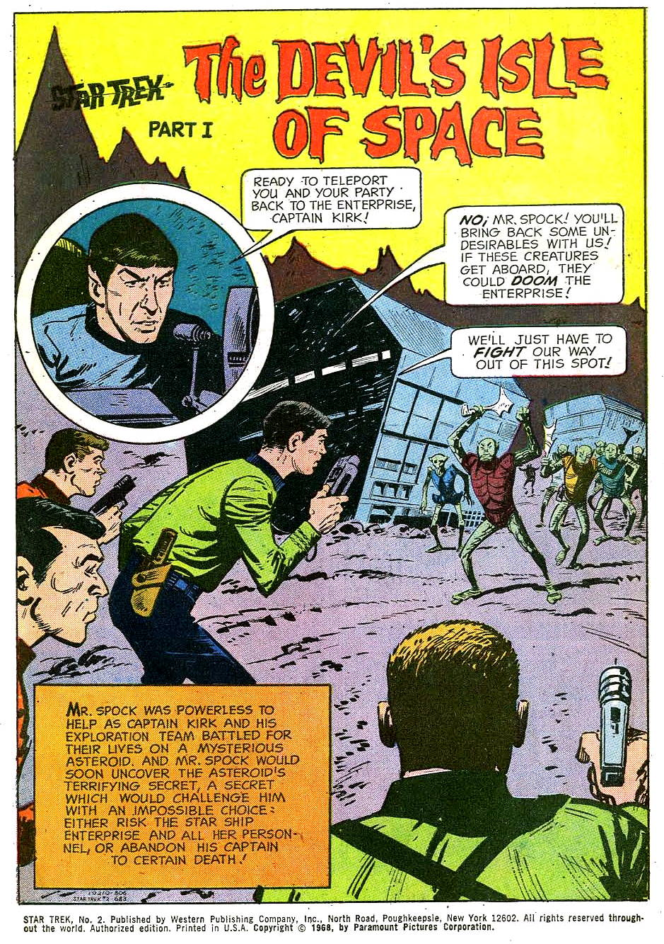 Star Trek (1967) Issue #2 #2 - English 3