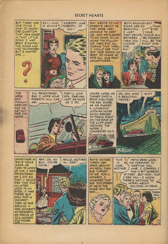 Read online Secret Hearts comic -  Issue #2 - 18