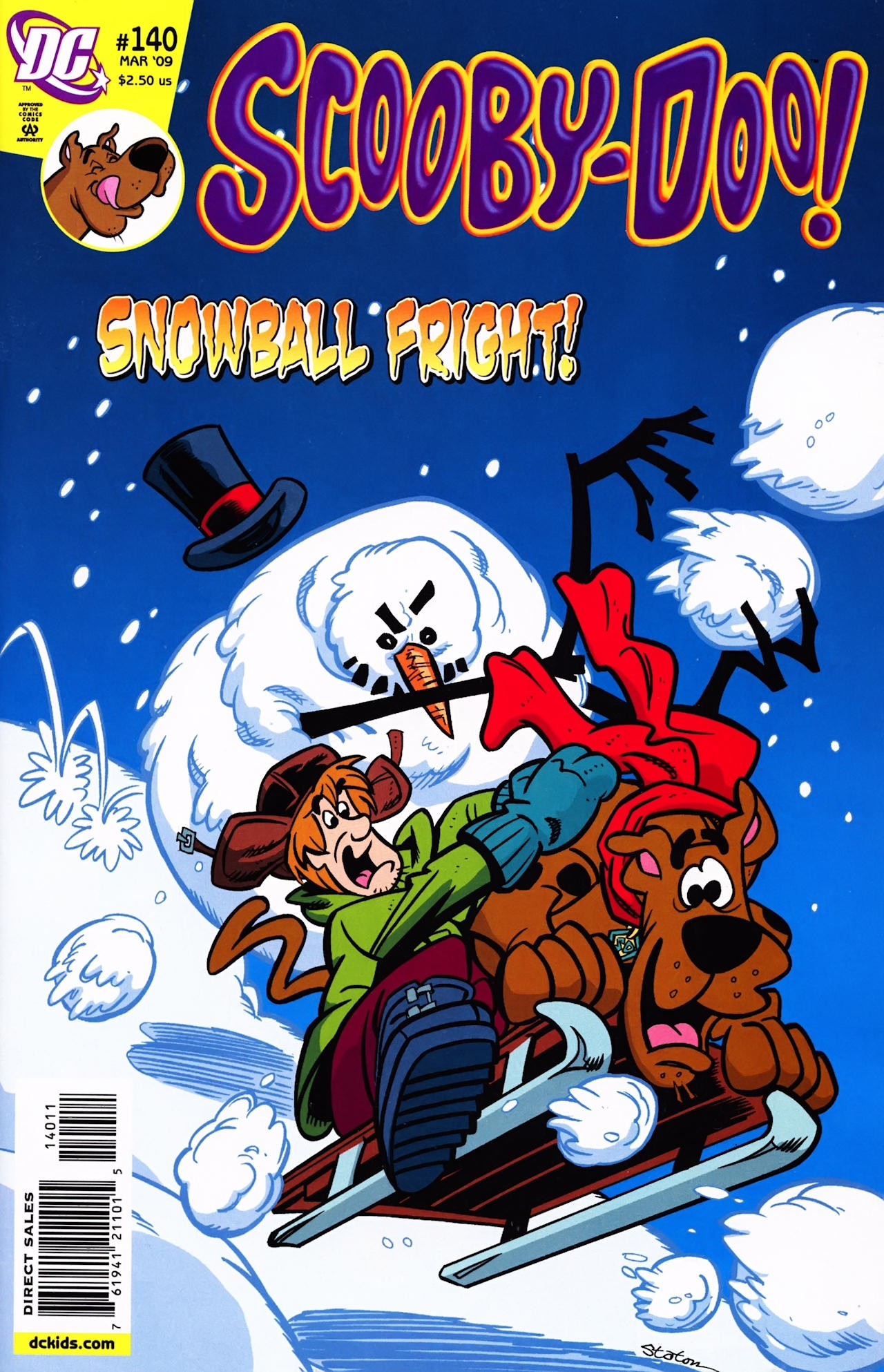 Read online Scooby-Doo (1997) comic -  Issue #140 - 1