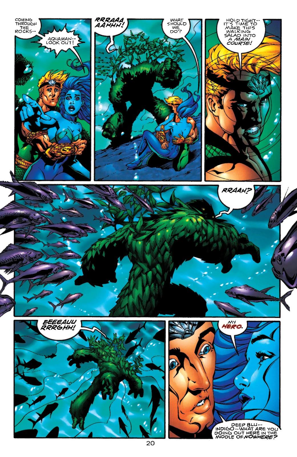 Aquaman (1994) Issue #55 #61 - English 21