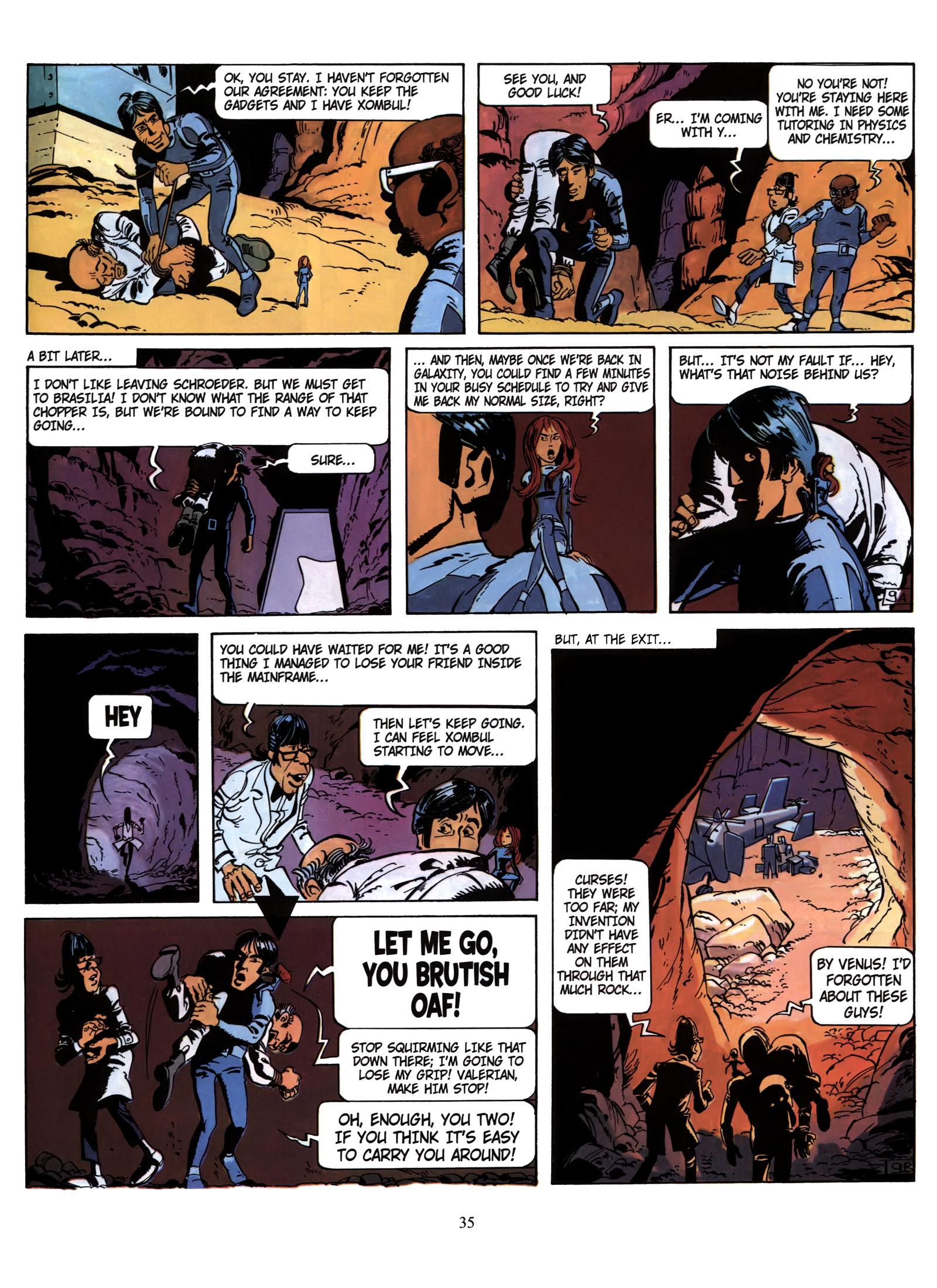 Valerian and Laureline #1 #23 - English 36