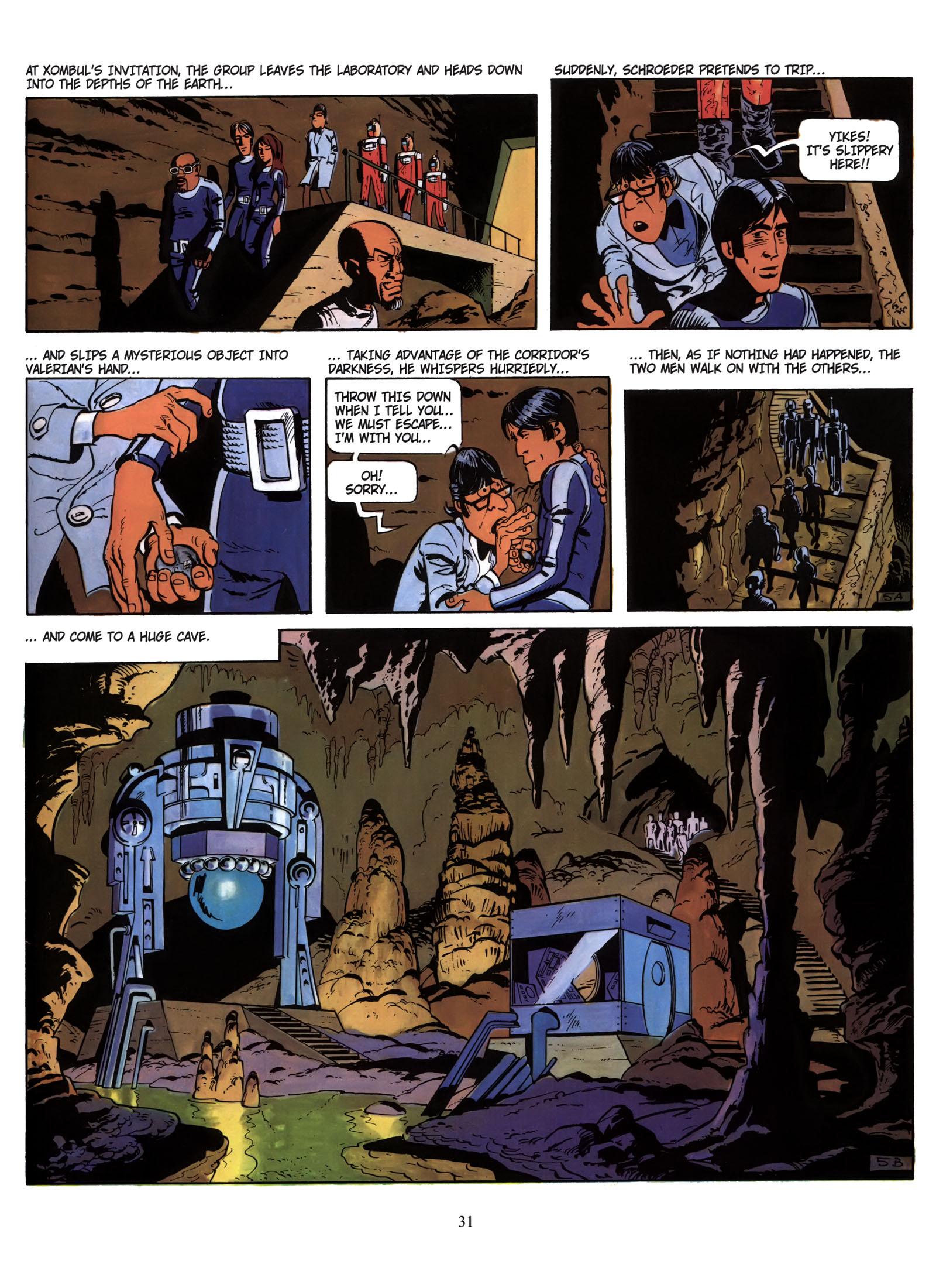 Valerian and Laureline #1 #23 - English 32