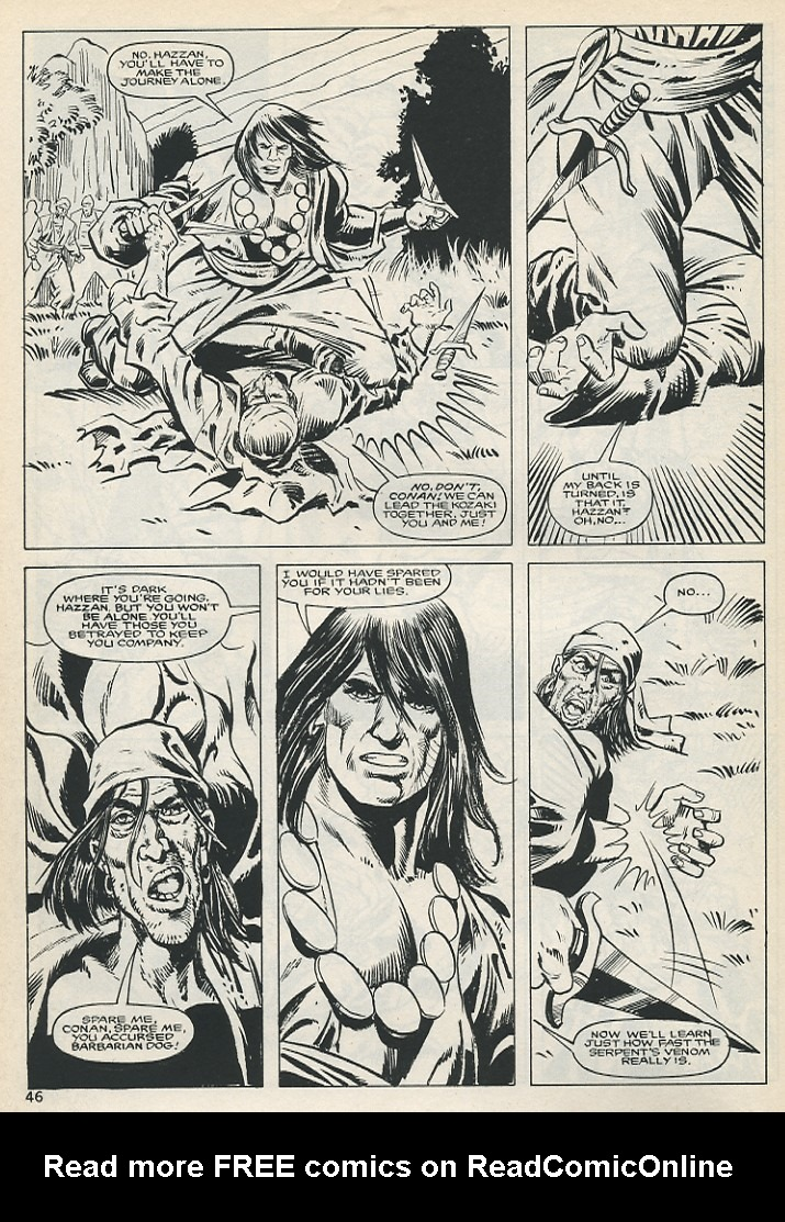 The Savage Sword Of Conan Issue #131 #132 - English 46