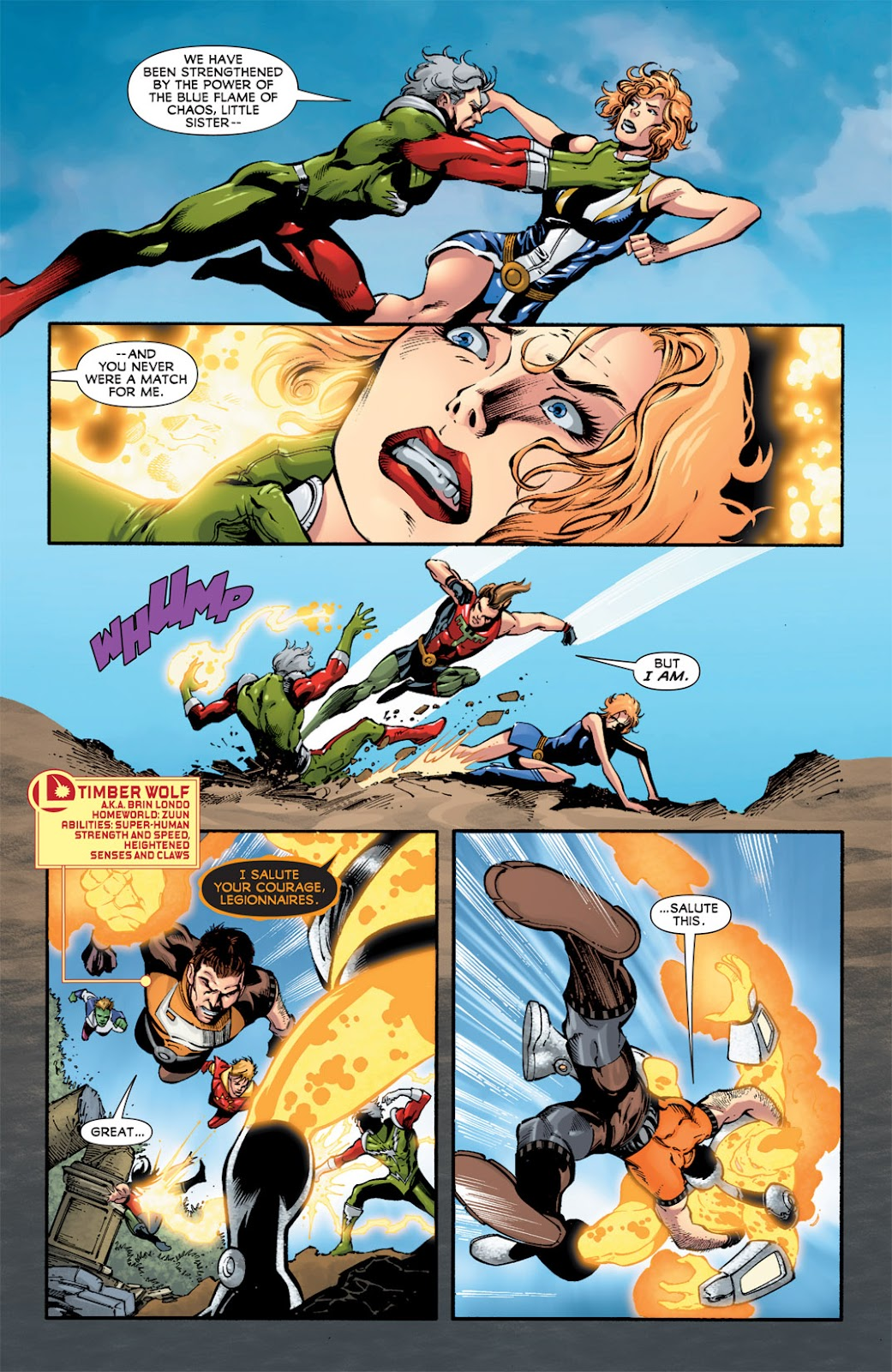 Legion of Super-Heroes (2010) Issue #15 #16 - English 6
