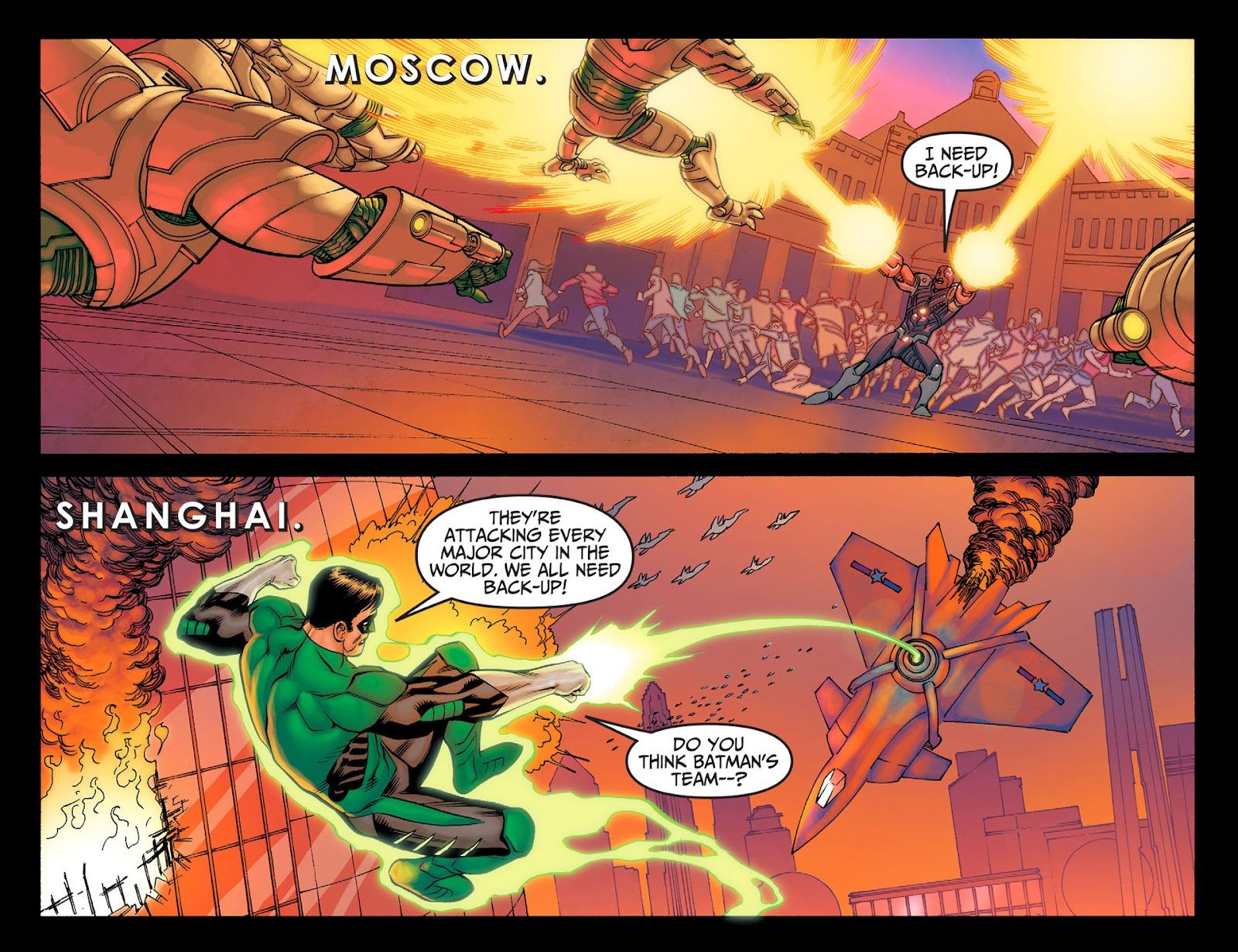 Injustice: Gods Among Us [I] Issue #24 #25 - English 3