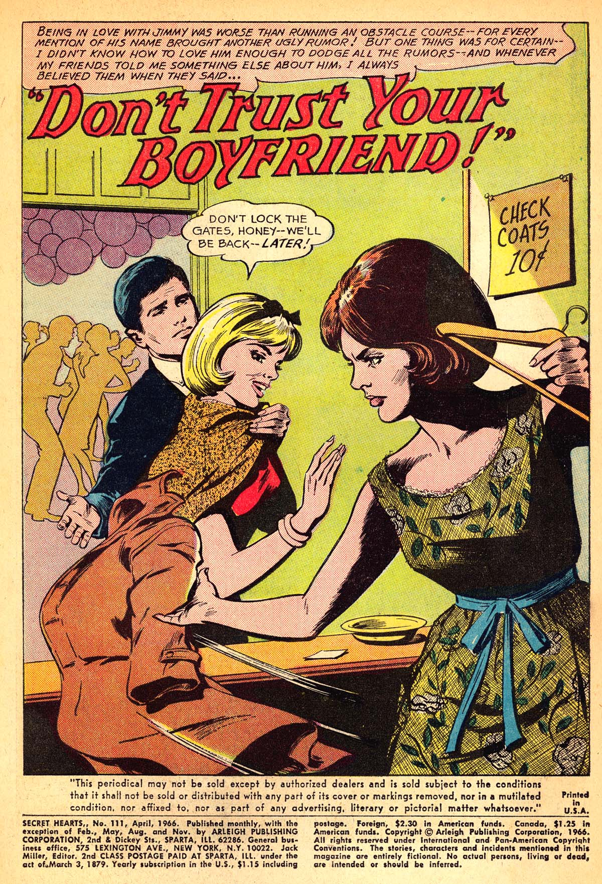 Read online Secret Hearts comic -  Issue #111 - 3