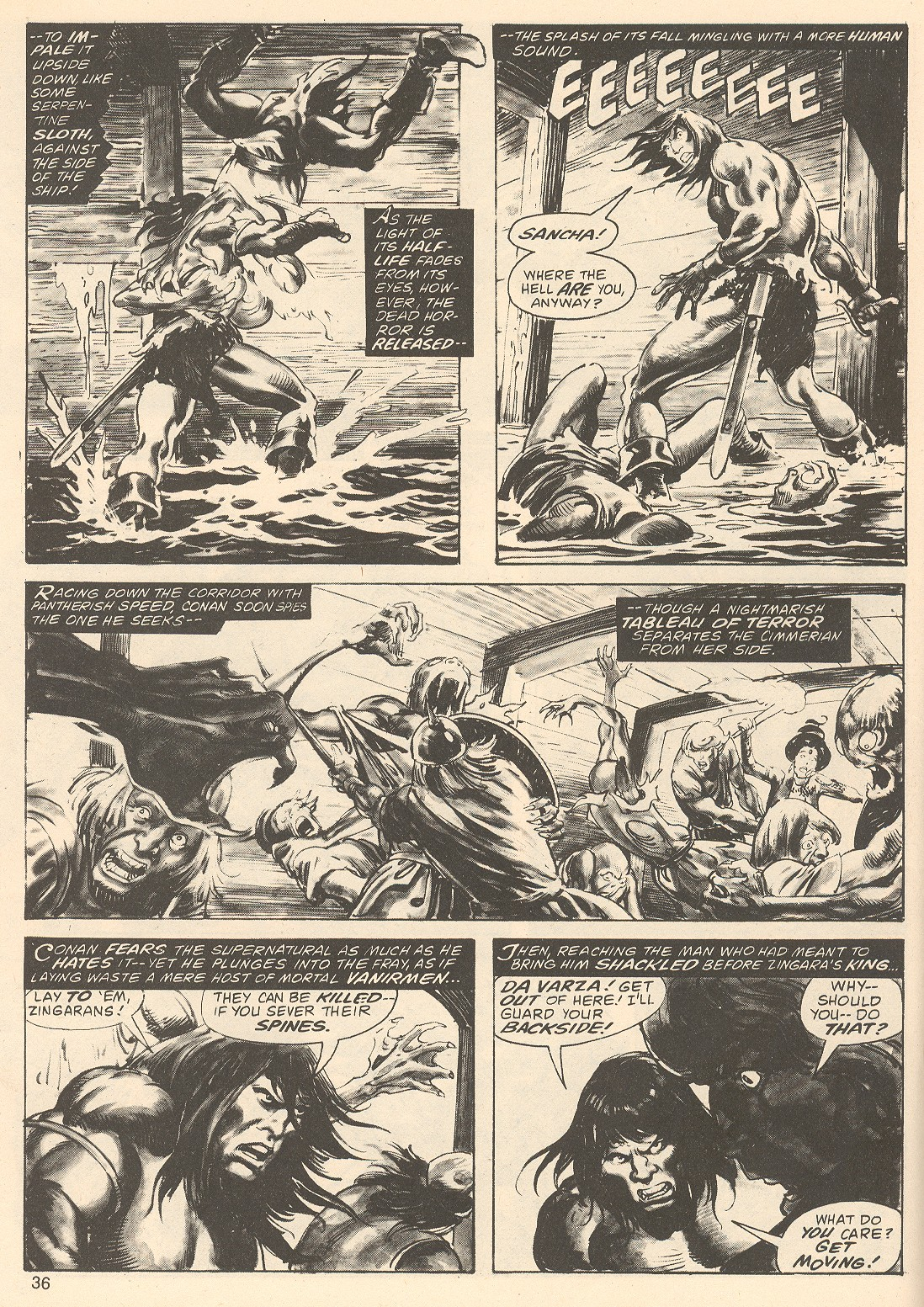The Savage Sword Of Conan Issue #67 #68 - English 36