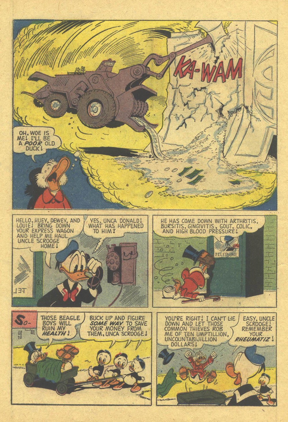 Uncle Scrooge (1953) Issue #28 #28 - English 6