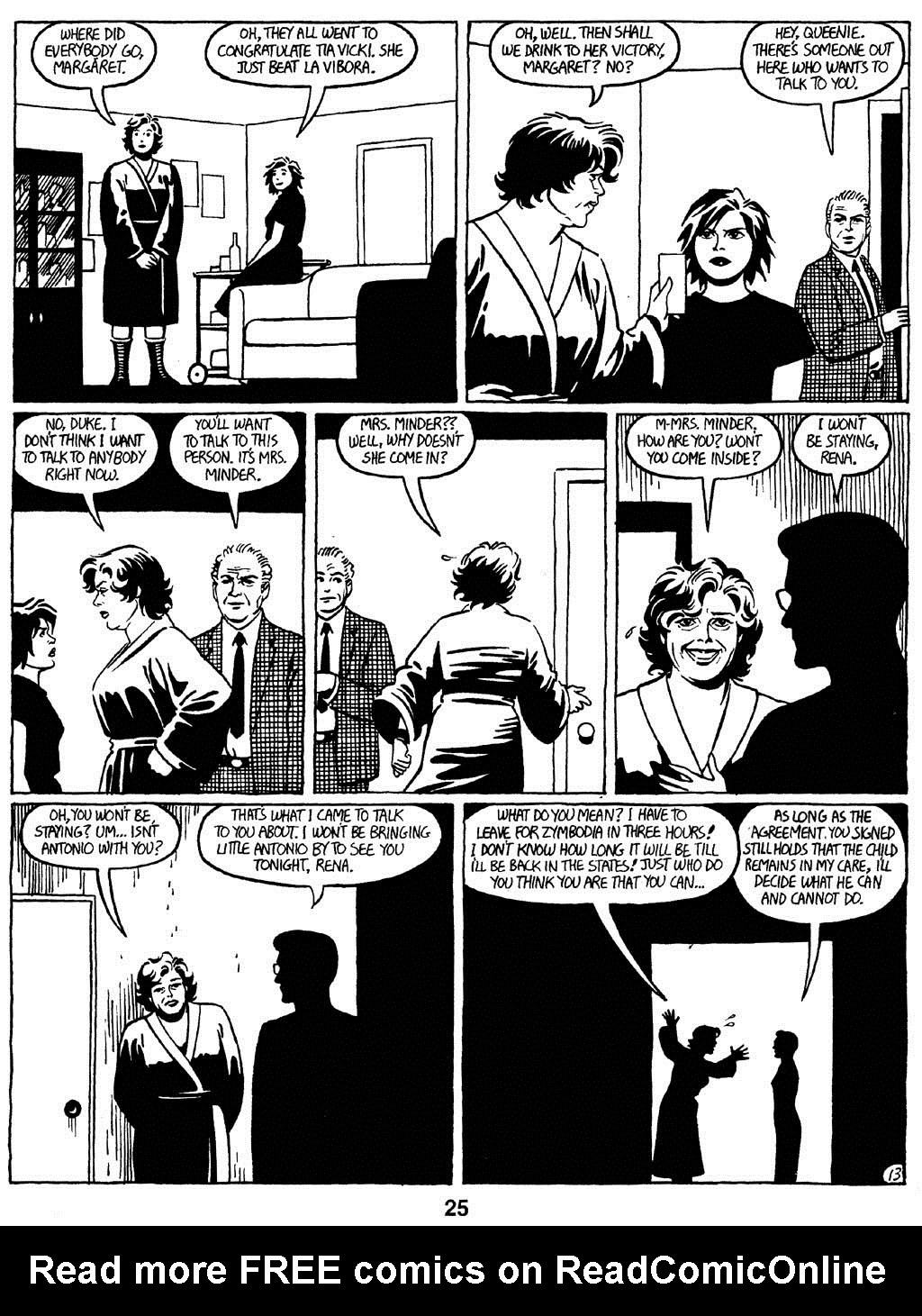 Love and Rockets (1982) Issue #16 #15 - English 27