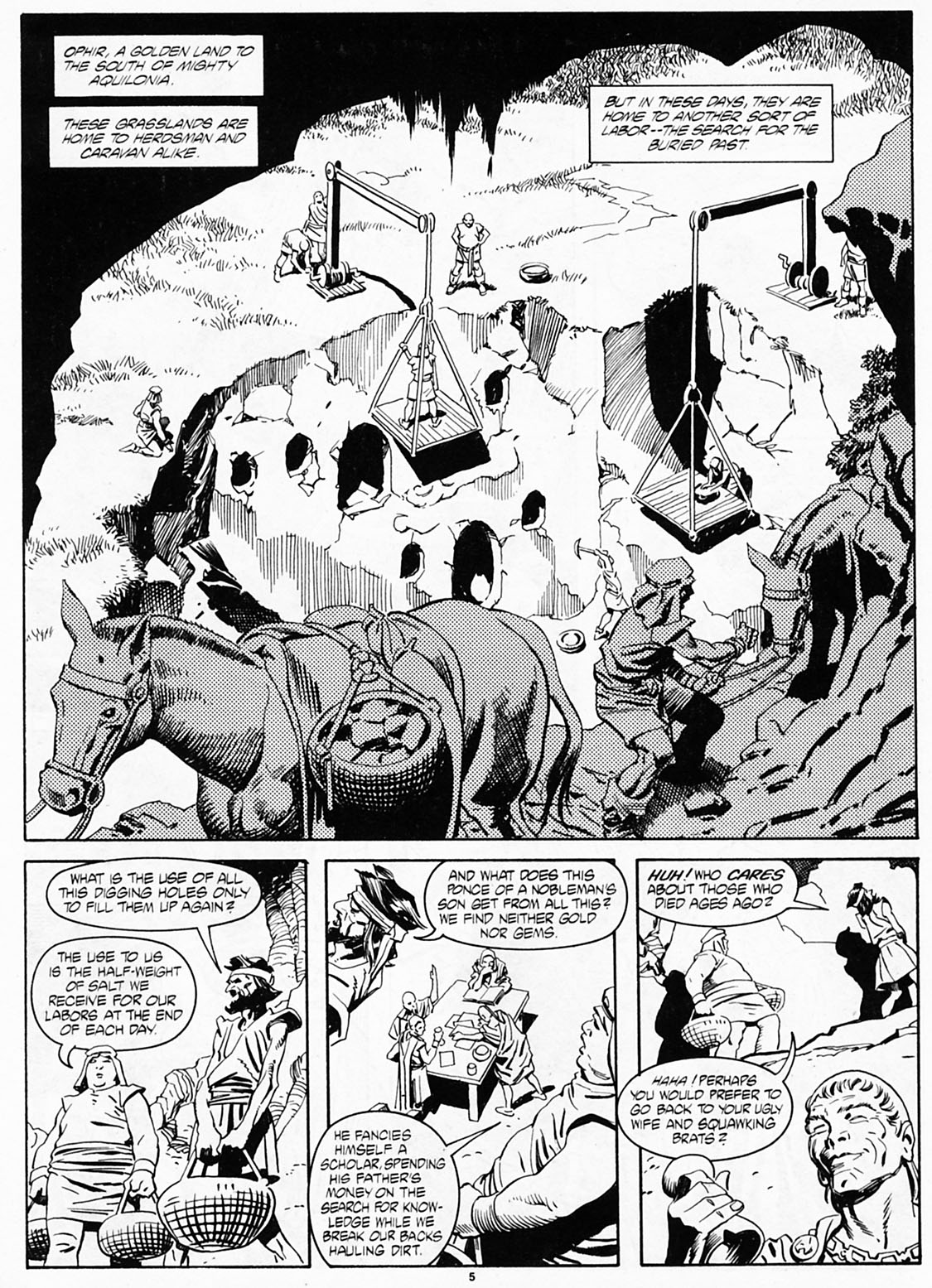 The Savage Sword Of Conan Issue #186 #187 - English 7