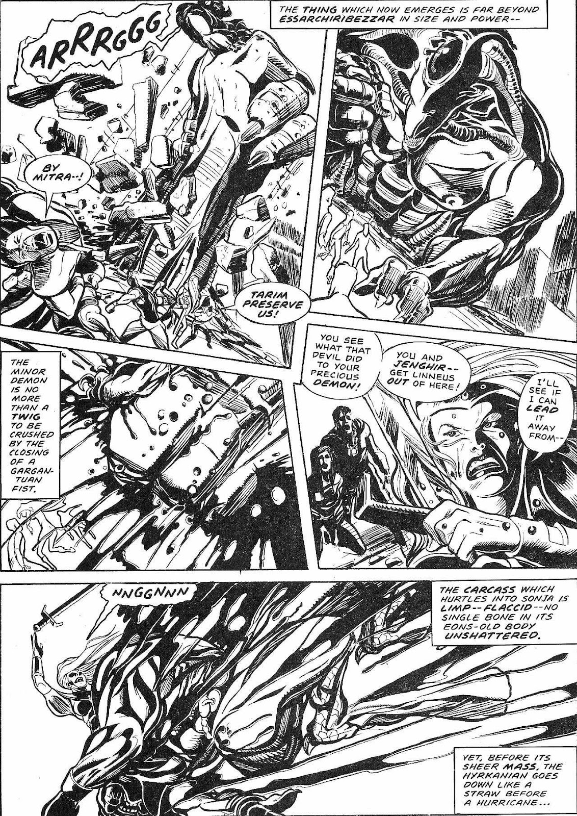 The Savage Sword Of Conan Issue #210 #211 - English 56
