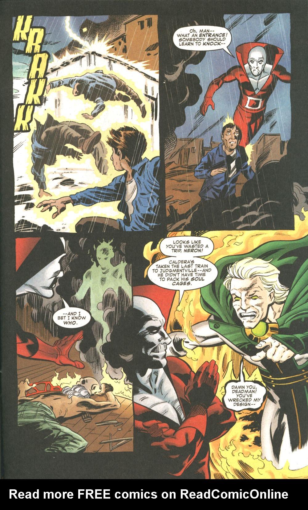 Read online Deadman: Dead Again comic -  Issue #5 - 20