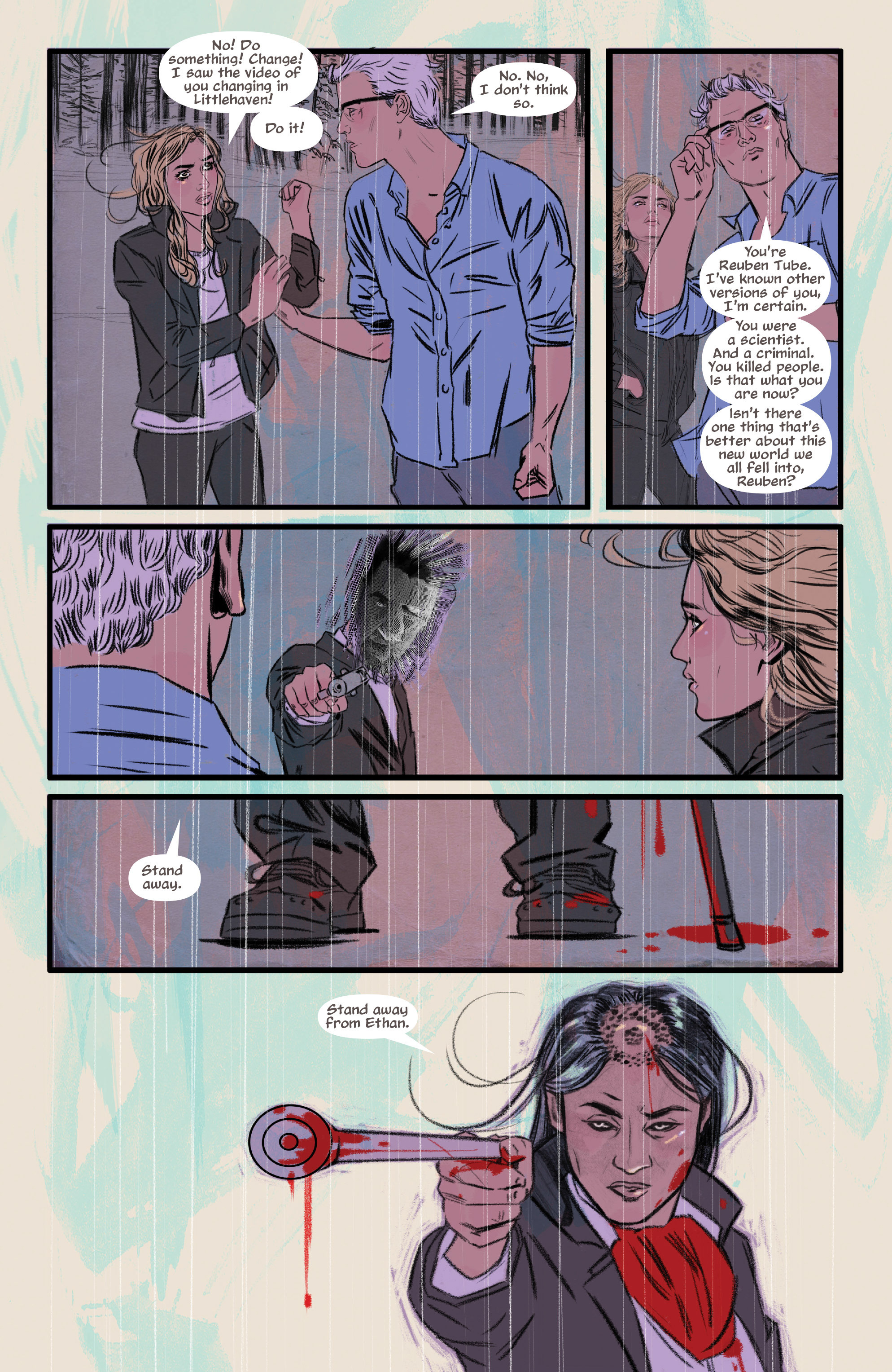 Read online Supreme Blue Rose comic -  Issue #7 - 11