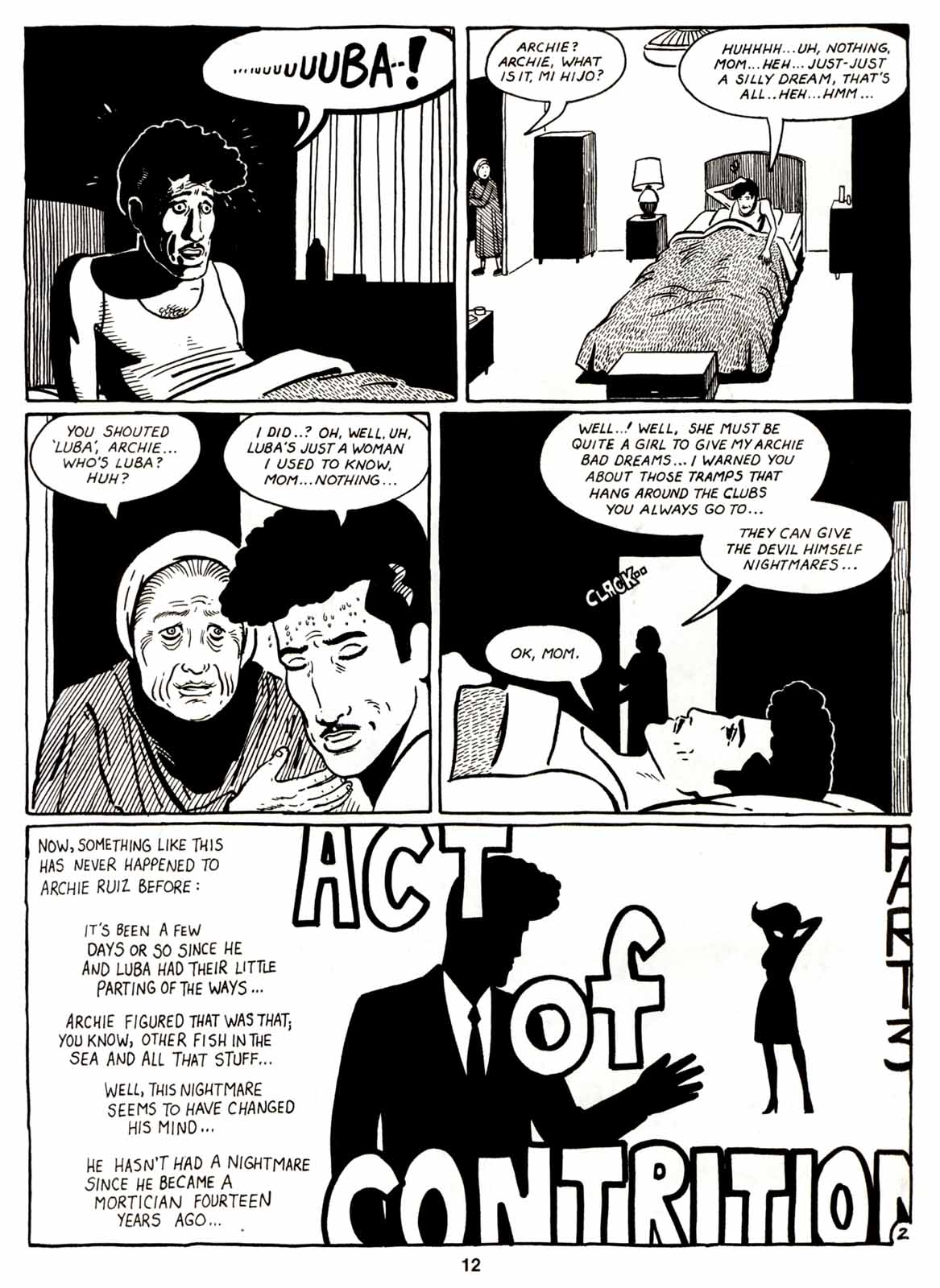 Love and Rockets (1982) Issue #7 #6 - English 14