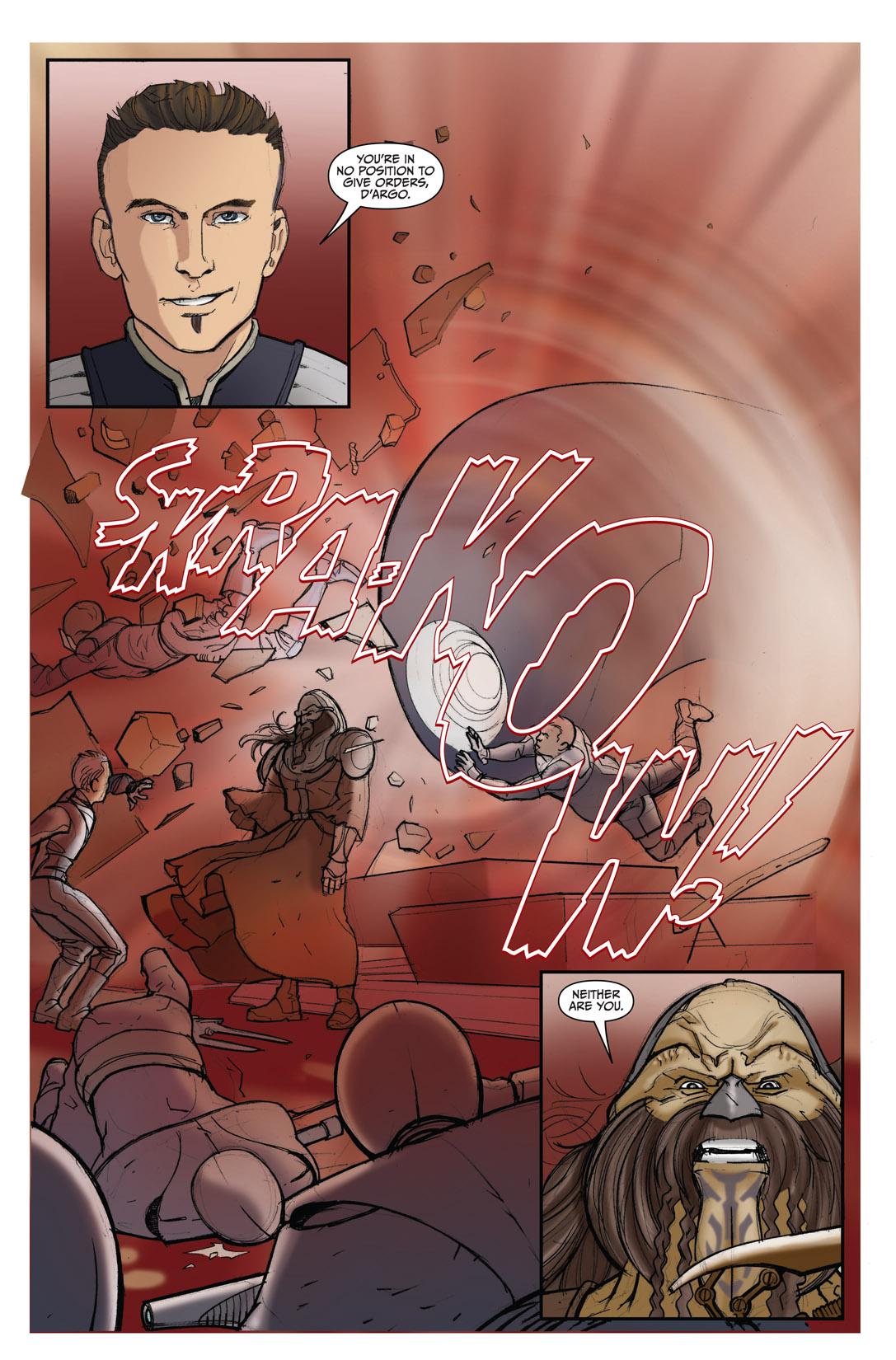 Read online Farscape: D'Argo's Quest comic -  Issue #4 - 21