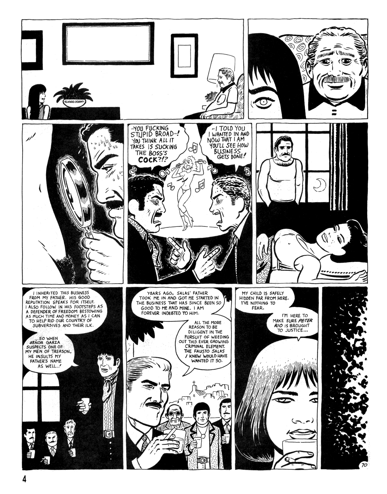 Love and Rockets (1982) #34 #34 - English 6