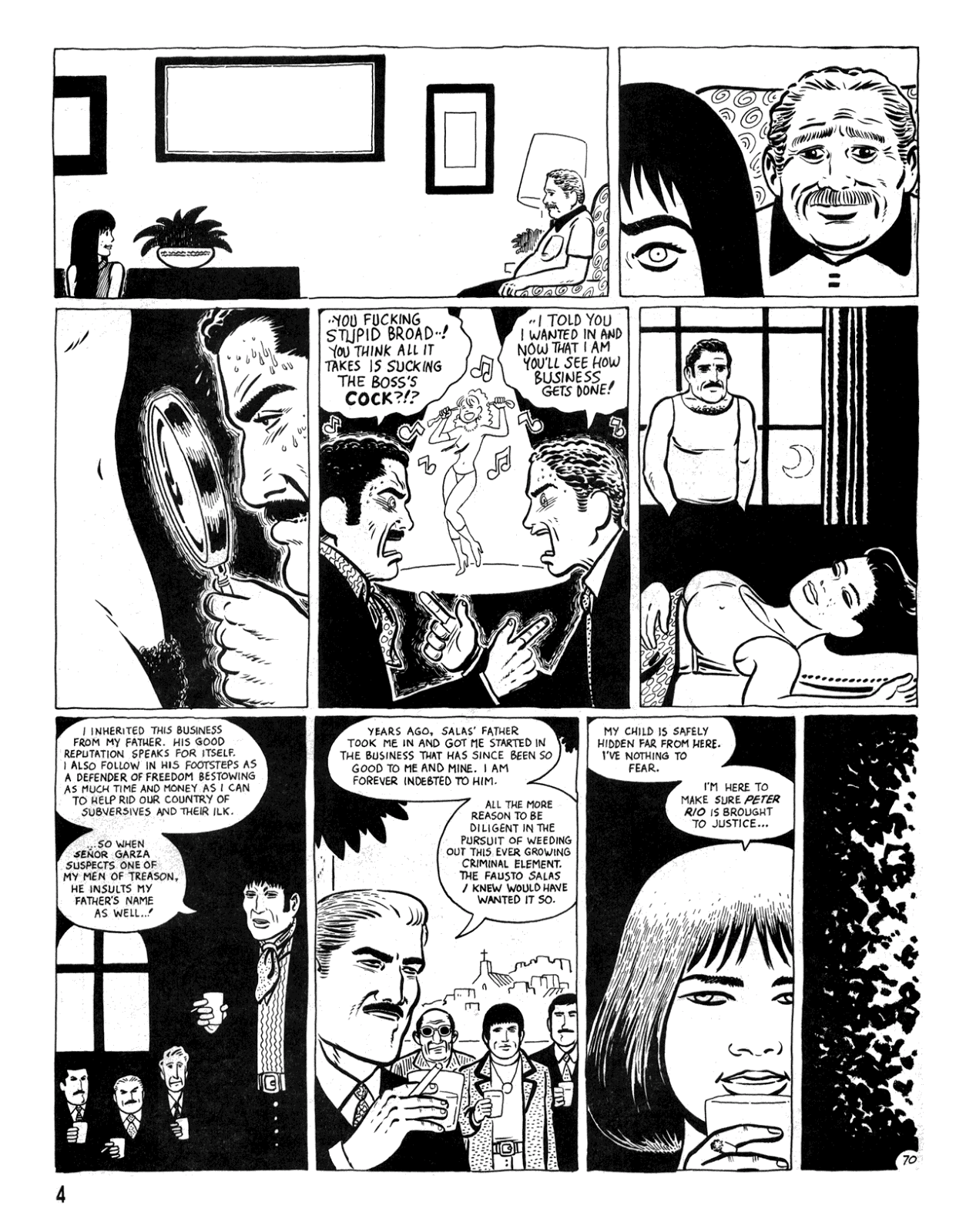 Love and Rockets (1982) Issue #34 #32 - English 6