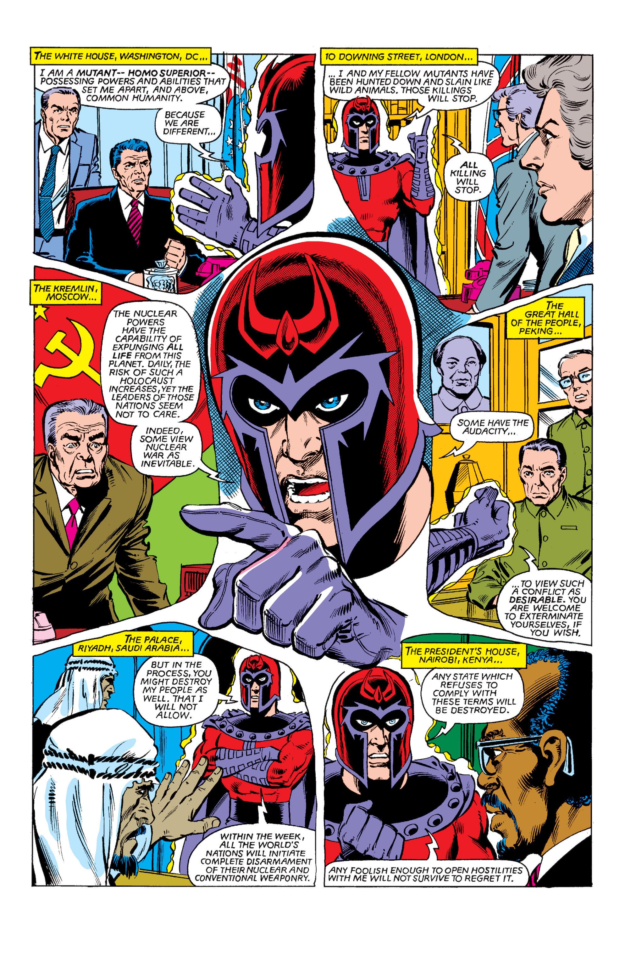 Uncanny X-Men (1963) 150 Page 2
