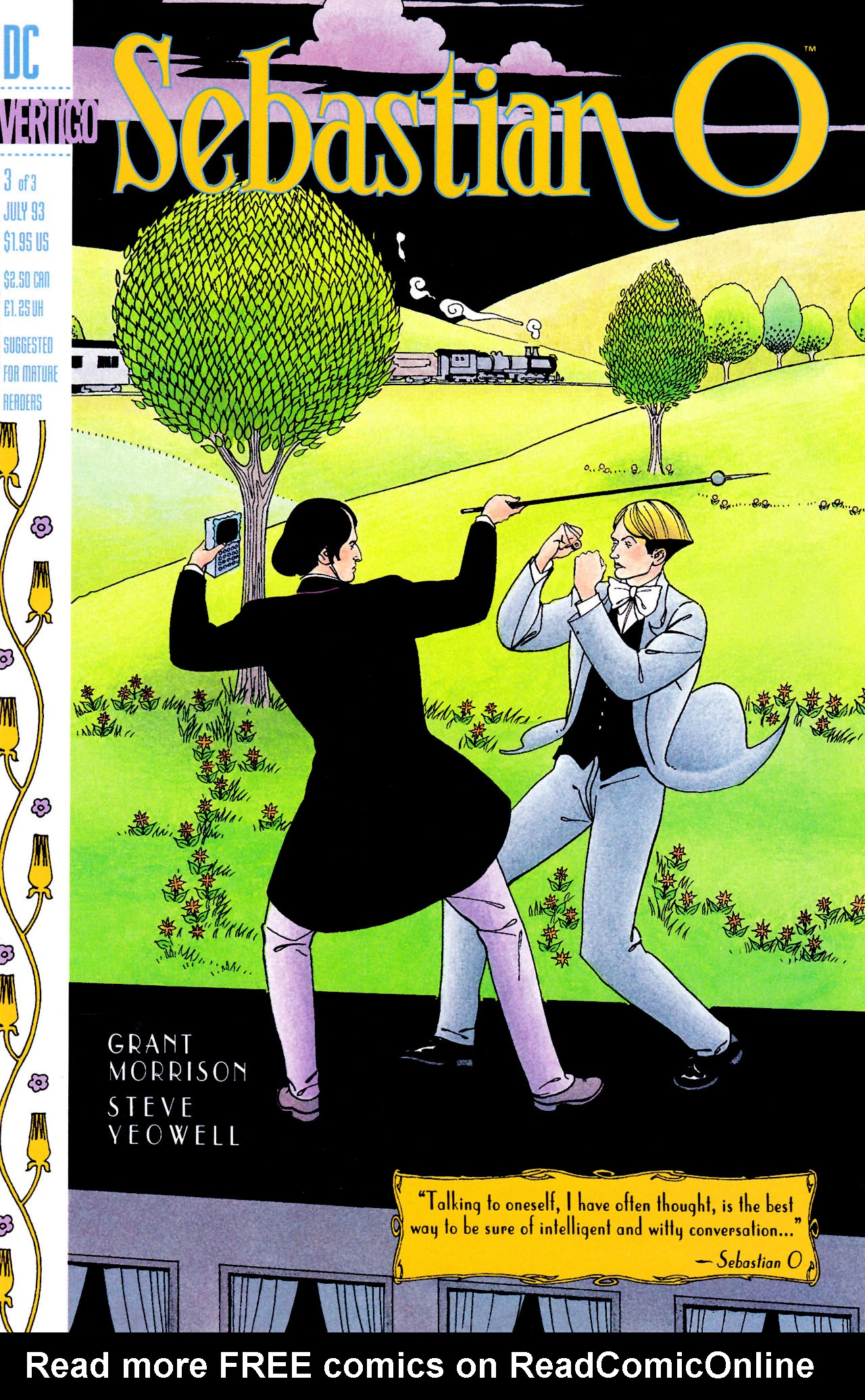 Read online Sebastian O comic -  Issue #3 - 1