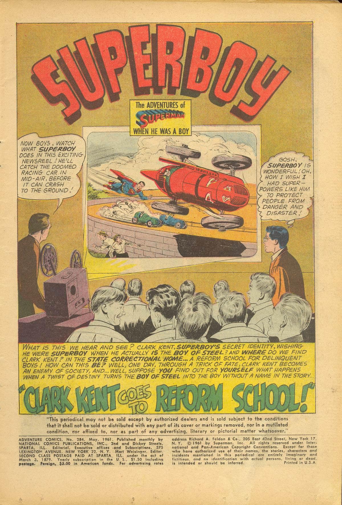 Read online Adventure Comics (1938) comic -  Issue #284 - 3