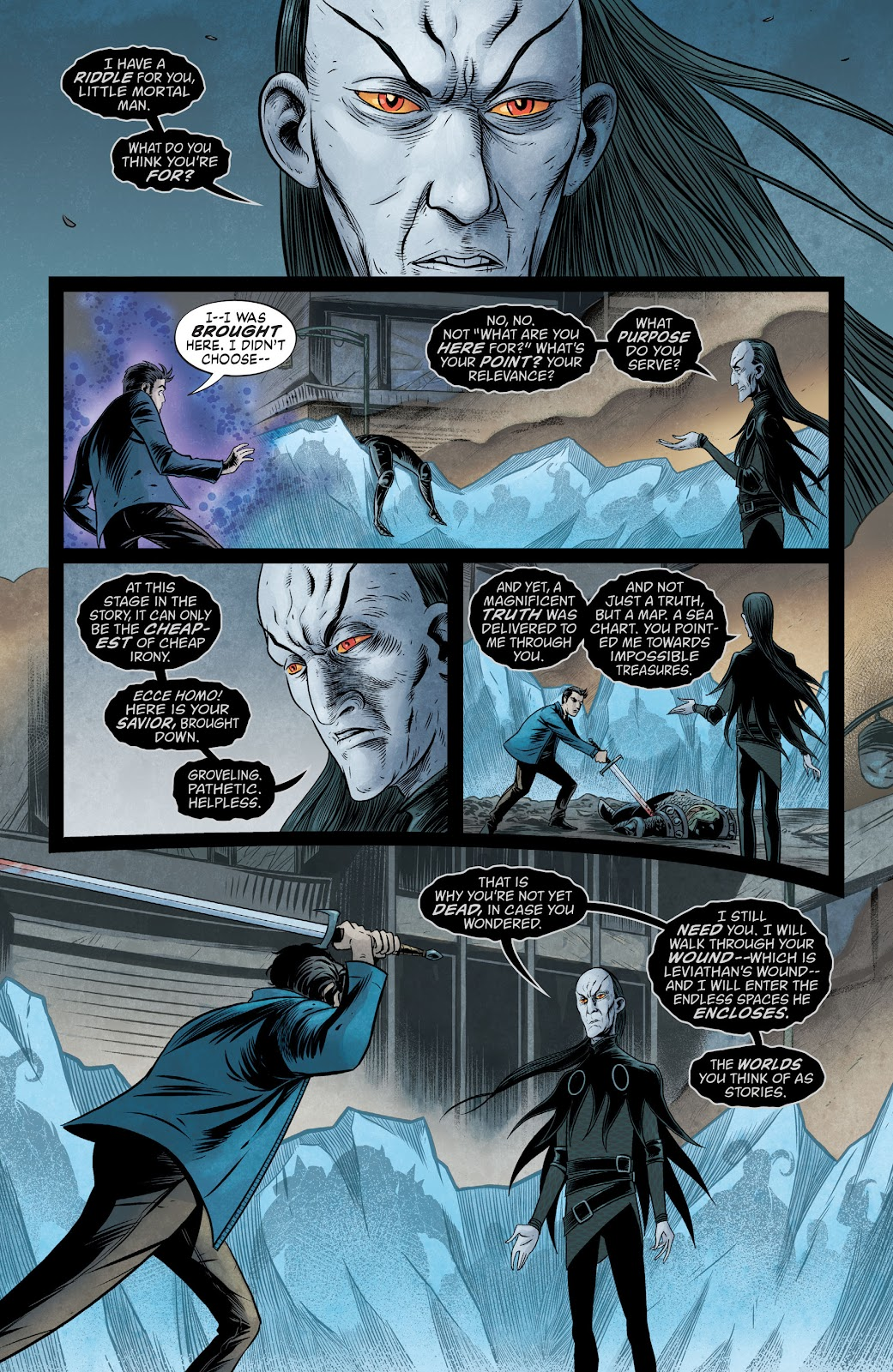 The Unwritten Issue #54 #60 - English 2