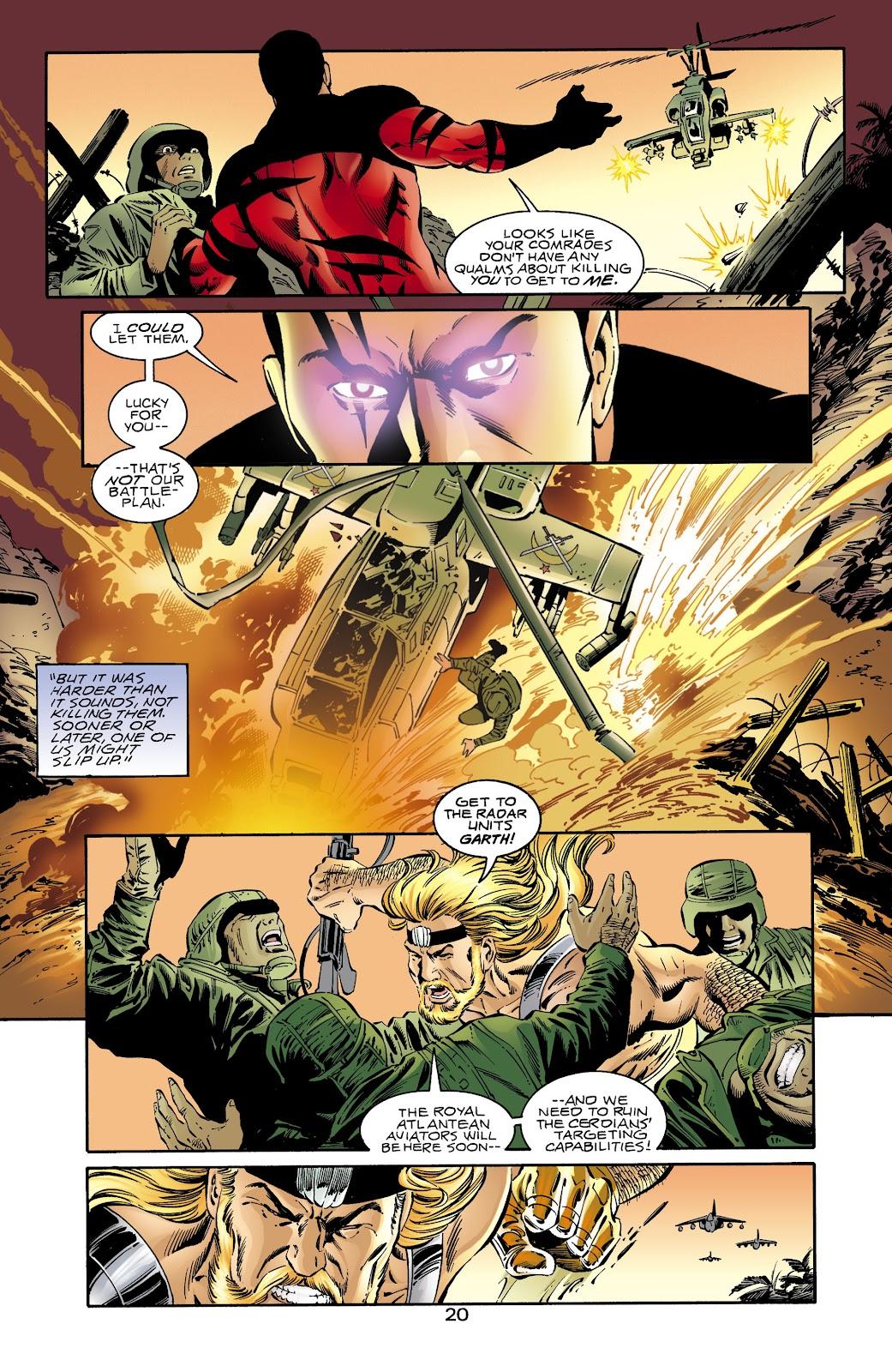 Aquaman (1994) Issue #65 #71 - English 19