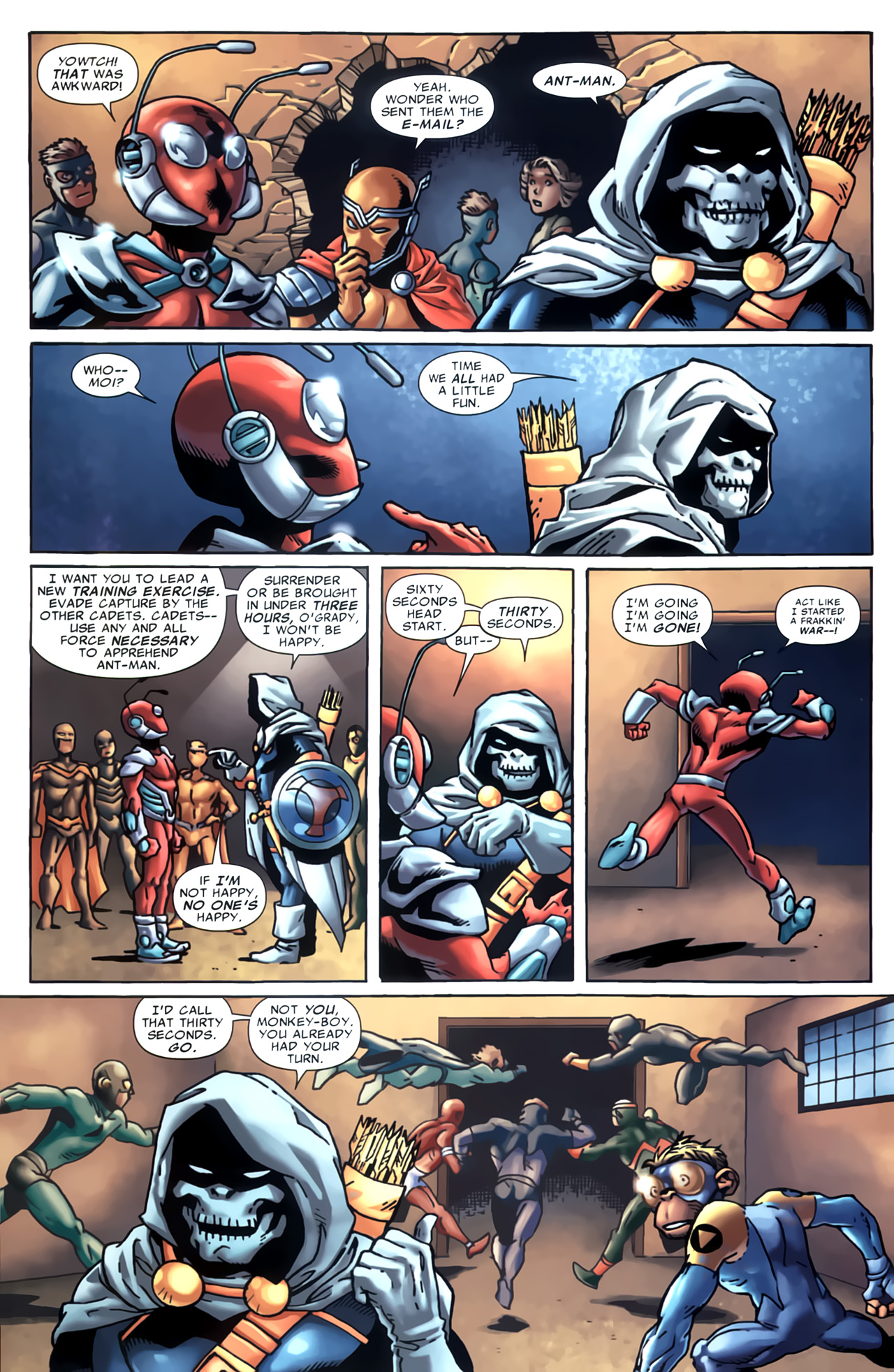 Read online Marvel Apes: Speedball Special comic -  Issue # Full - 13