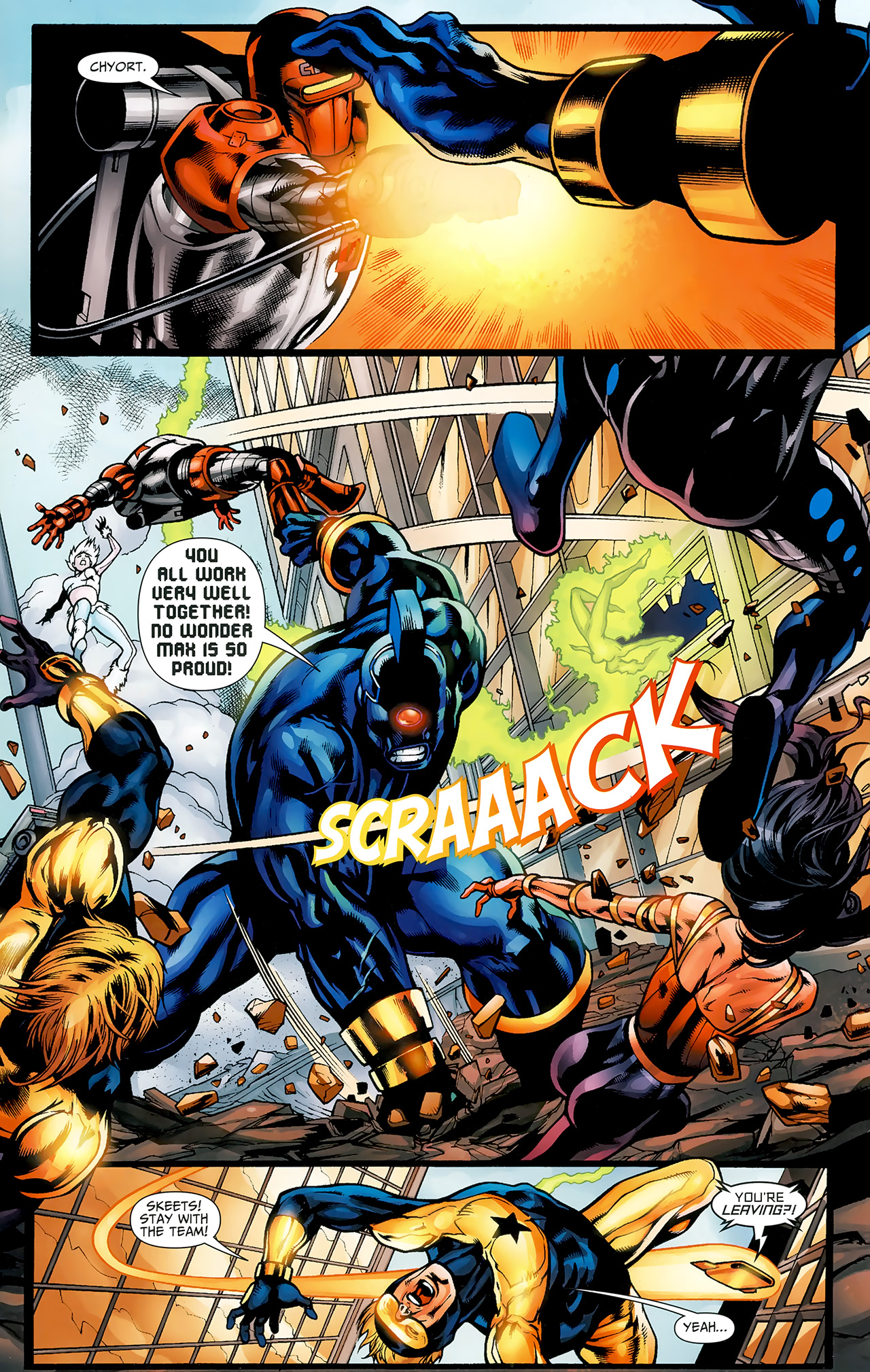 Read online Justice League: Generation Lost comic -  Issue #23 - 17