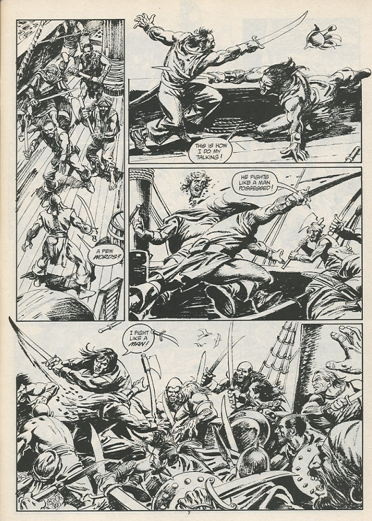 The Savage Sword Of Conan Issue #189 #190 - English 9