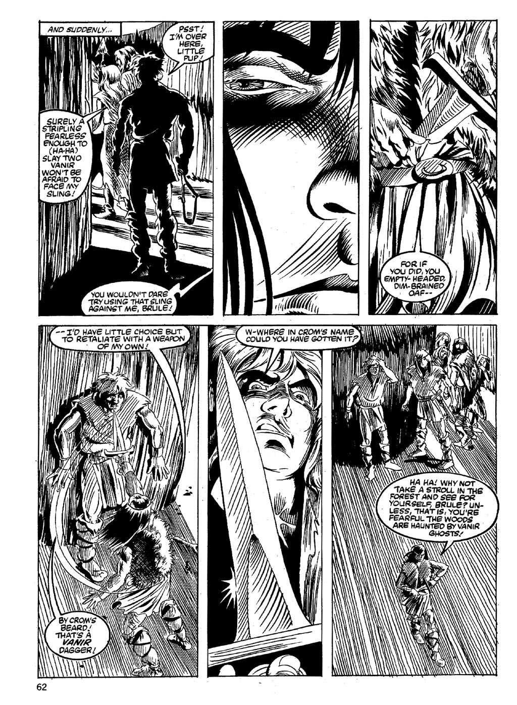 The Savage Sword Of Conan Issue #89 #90 - English 60