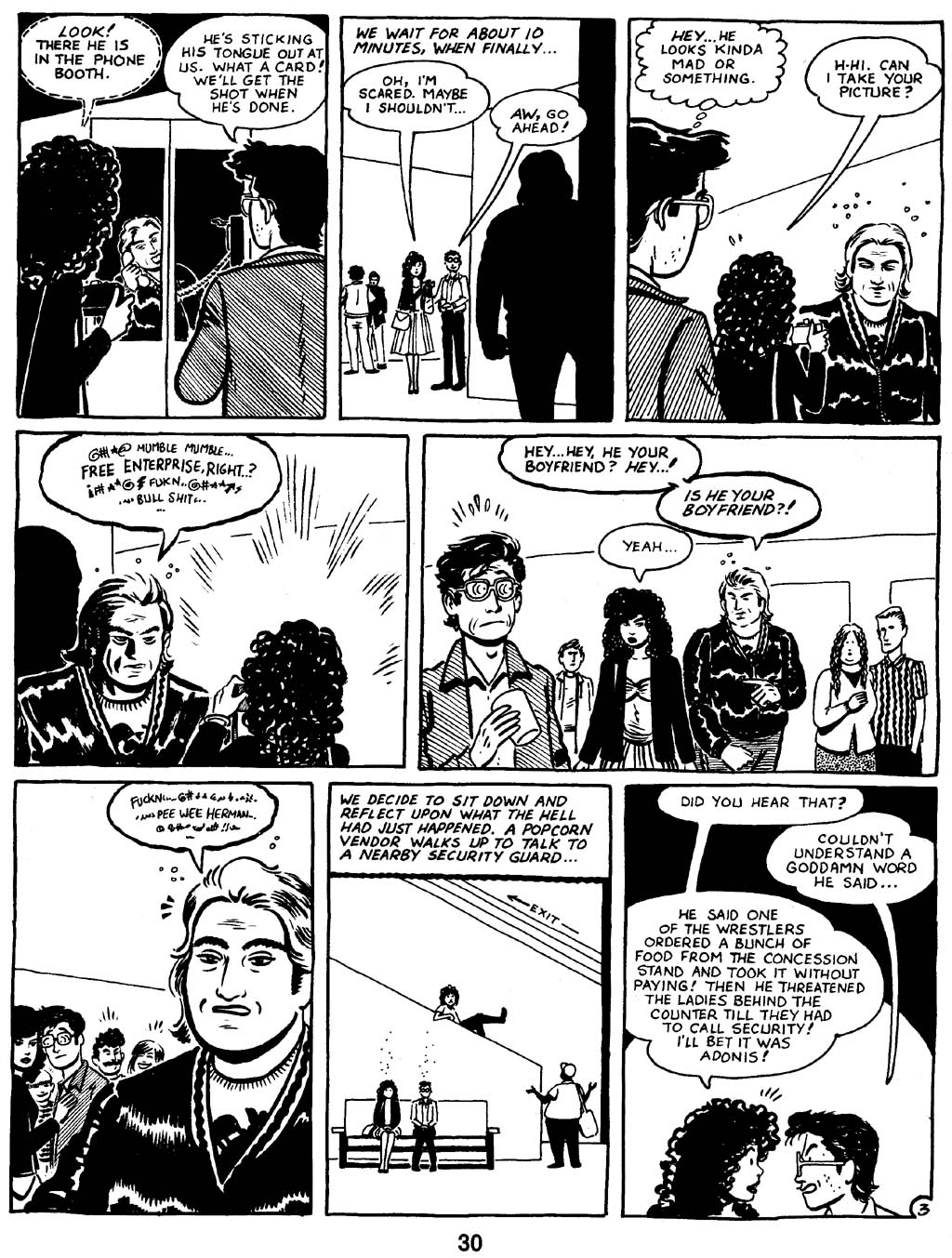 Love and Rockets (1982) Issue #16 #15 - English 32