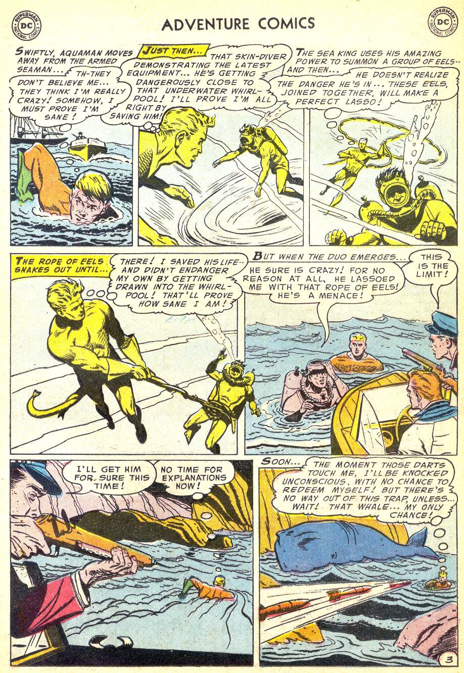 Read online Adventure Comics (1938) comic -  Issue #218 - 19