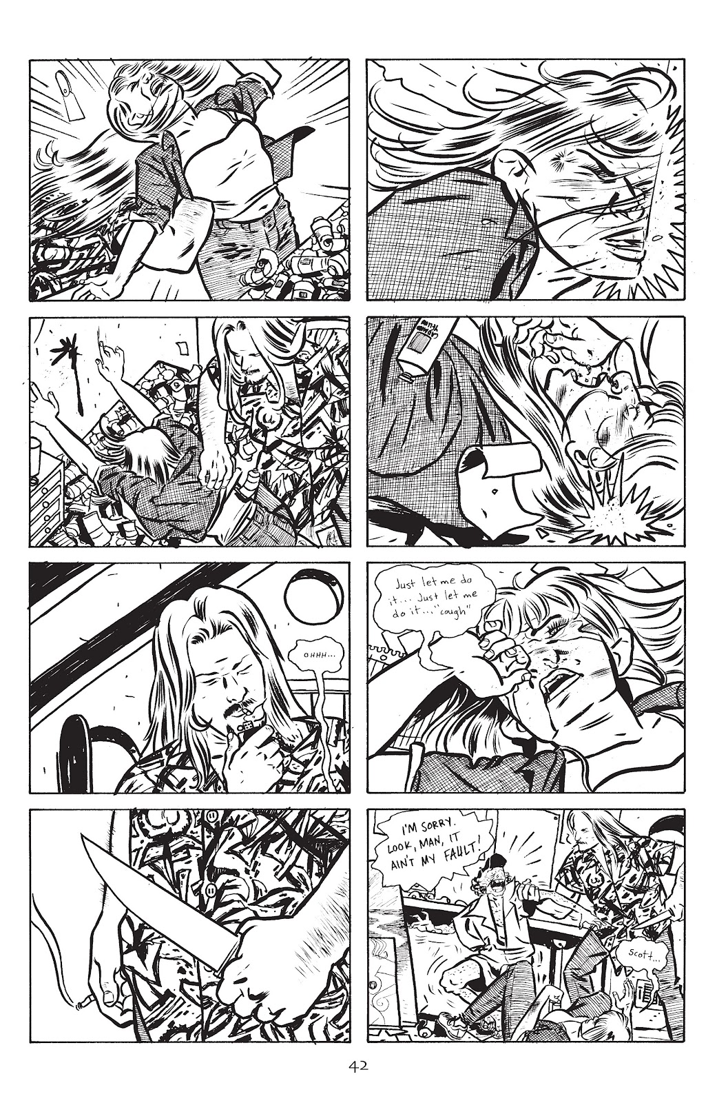 Stray Bullets Issue #14 #14 - English 44