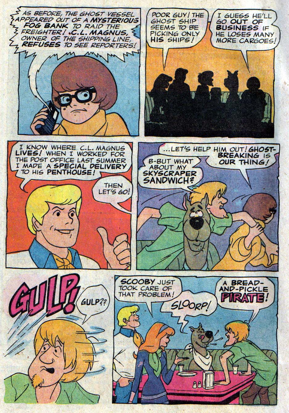 Read online Scooby-Doo... Mystery Comics comic -  Issue #26 - 3