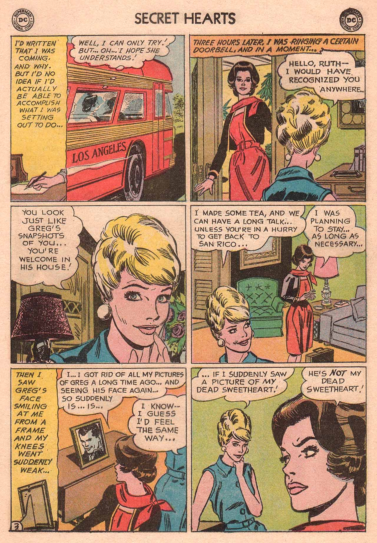 Read online Secret Hearts comic -  Issue #94 - 29