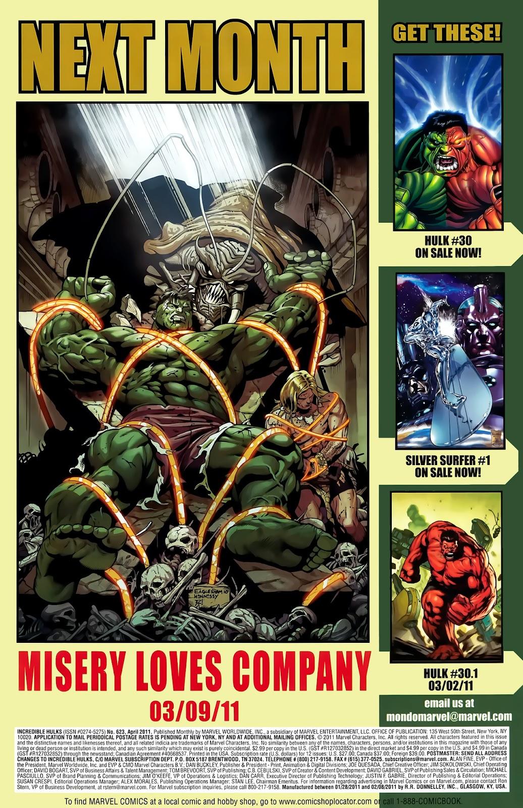 Incredible Hulks (2010) Issue #623 #13 - English 24