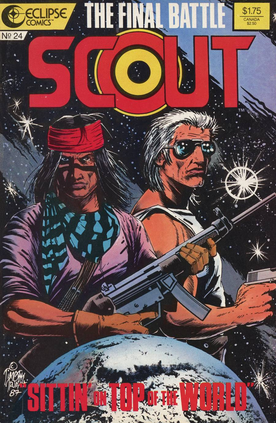 Read online Scout comic -  Issue #24 - 1
