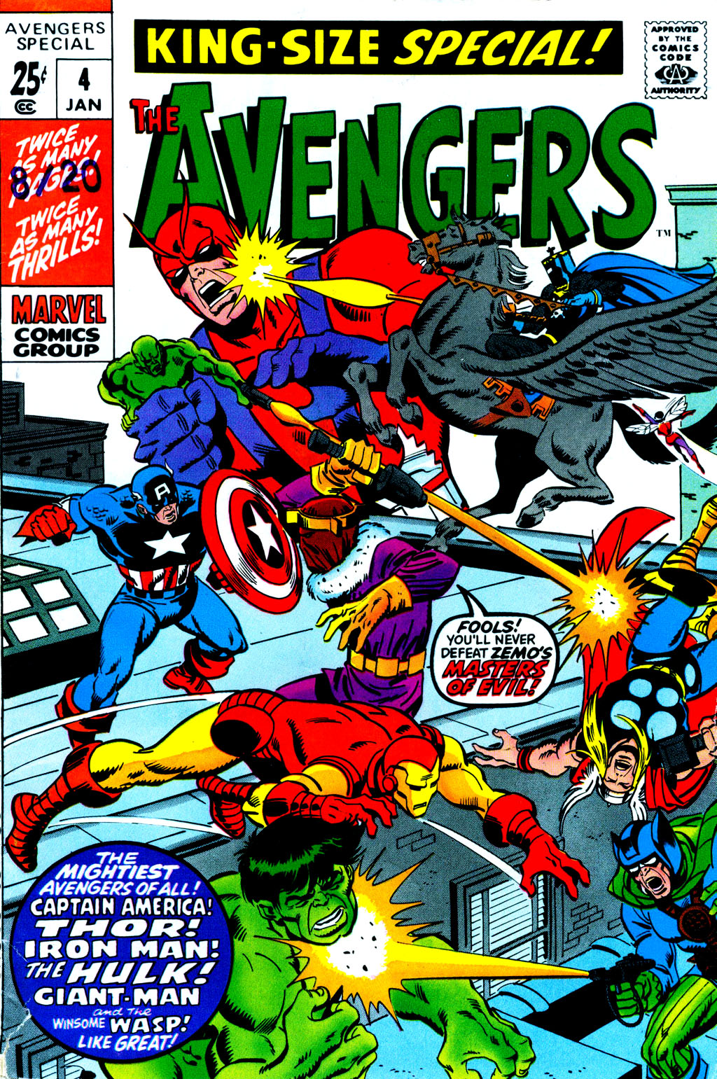 The Avengers (1963) _Annual_4 Page 1