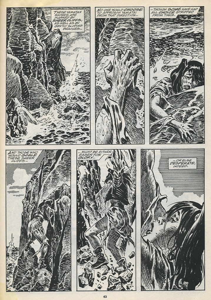 The Savage Sword Of Conan Issue #194 #195 - English 45