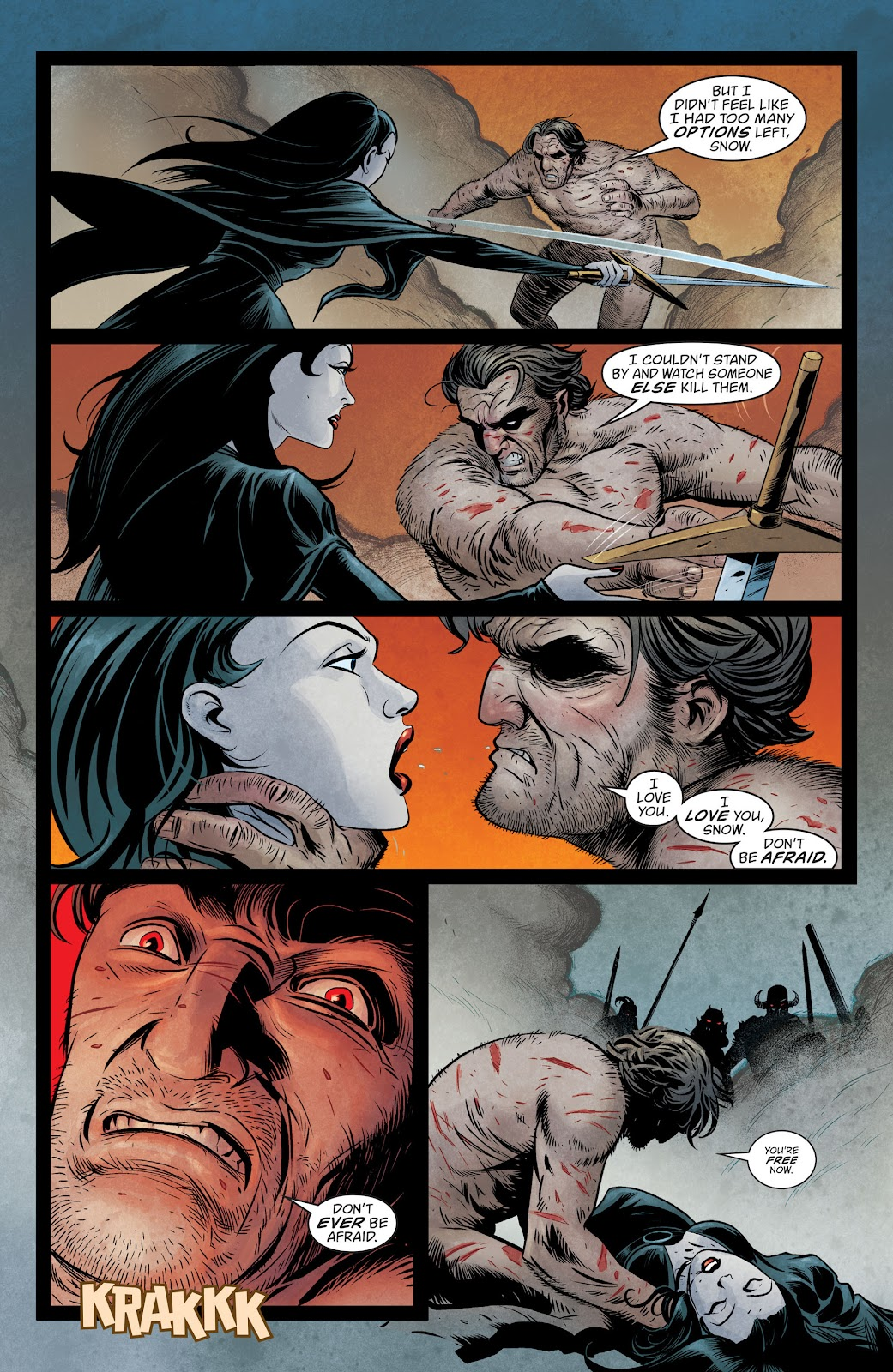 The Unwritten Issue #54 #60 - English 8