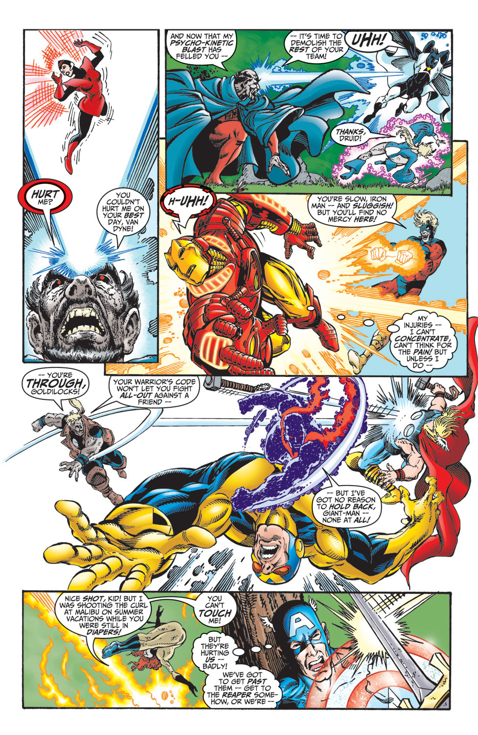 Read online Avengers (1998) comic -  Issue #10 - 20