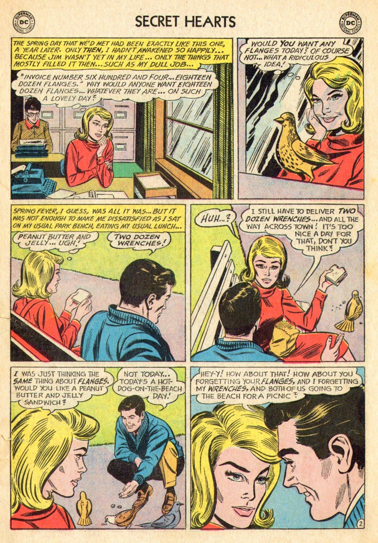 Read online Secret Hearts comic -  Issue #101 - 11