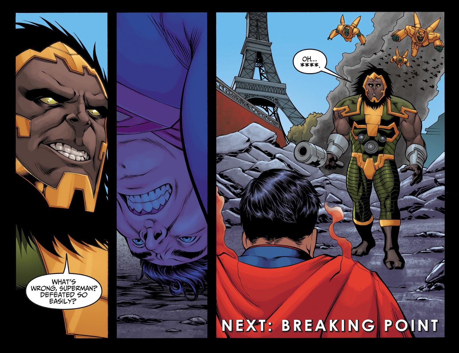 Injustice: Gods Among Us [I] Issue #22 #23 - English 22