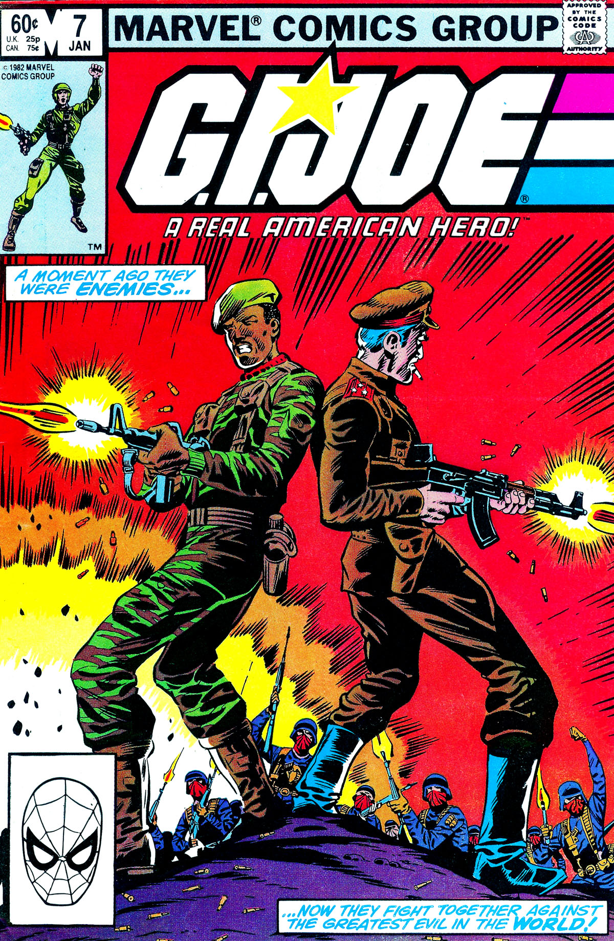 G.I. Joe: A Real American Hero 7 Page 1