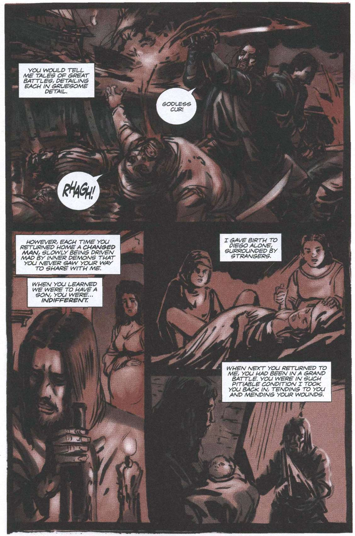 Read online Sea of Red comic -  Issue #6 - 21