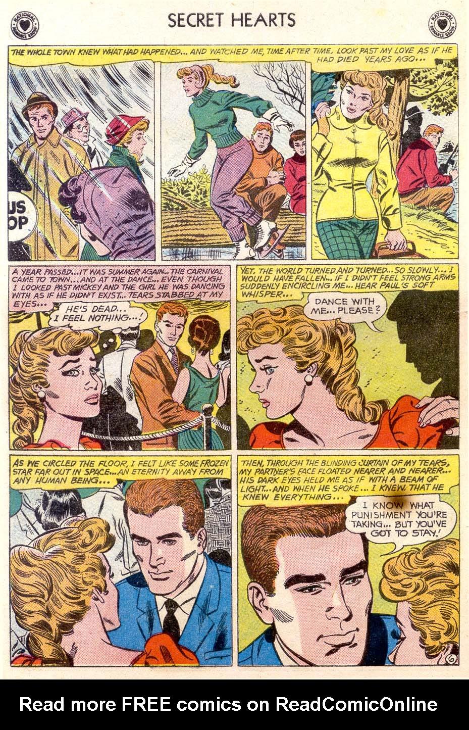 Read online Secret Hearts comic -  Issue #65 - 31