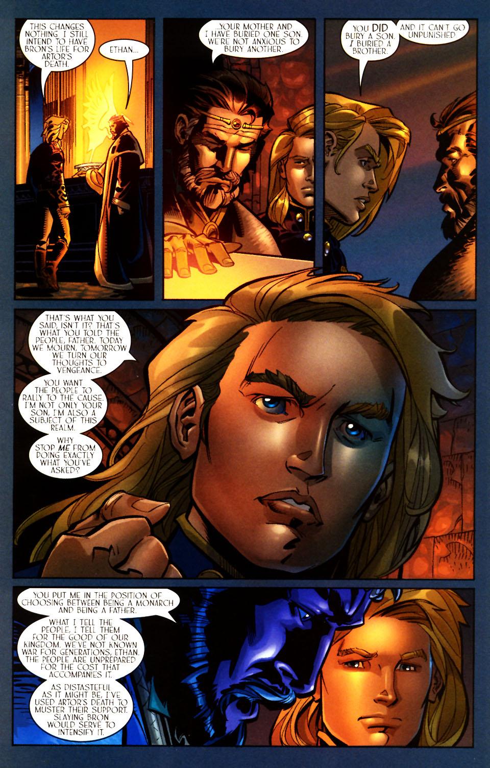 Read online Scion comic -  Issue #7 - 19