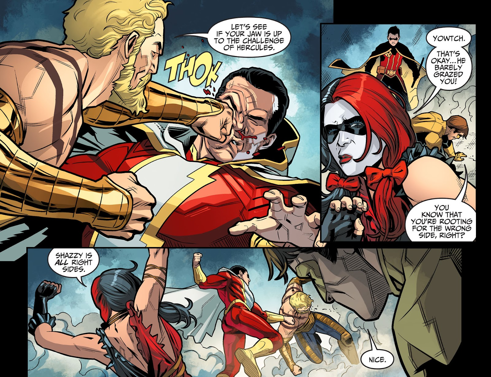 Injustice: Gods Among Us Year Four Issue #13 #14 - English 12